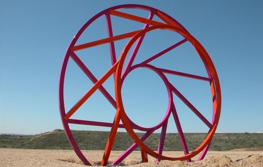 Esculturas metálicas